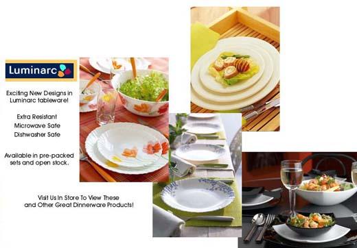 Luminarc Dishes